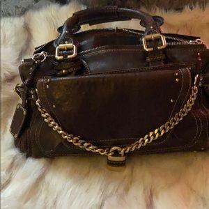 Chloe paddington brown medium bag
